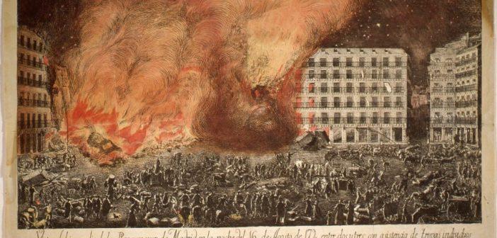 El día que San Isidro fue bombero en Madrid
