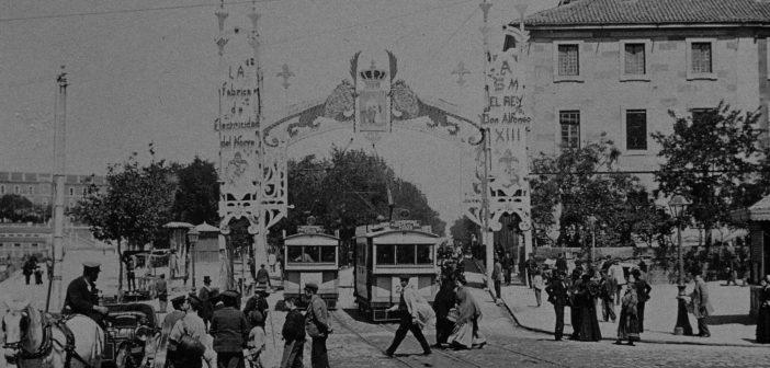 Fotos antiguas de Madrid: Plaza de San Marcial (actual Plaza de España),
