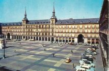 Plaza Mayor hacia 1960