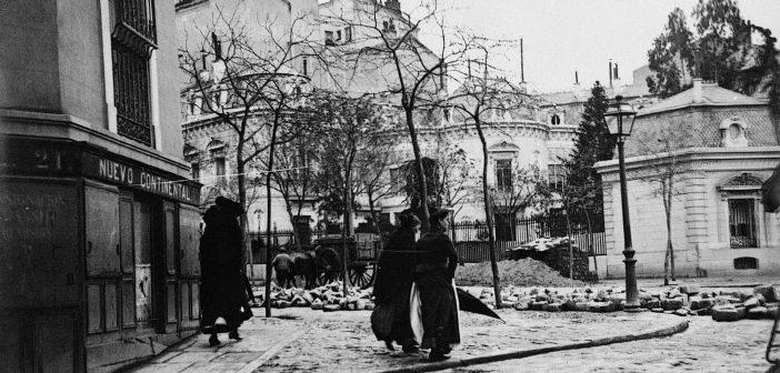 Fotos antiguas de Madrid: Calle Génova (1900)