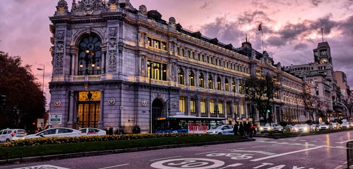La postal de la semana de Madrid: Banco de España