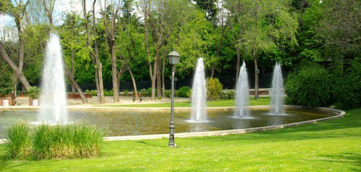 El Parque de Atenas, un jardín invisible en Madrid