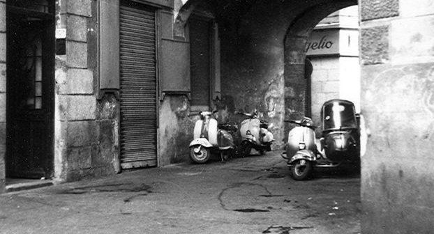 Fotos antiguas de Madrid: Pasadizo de San Ginés (1966)