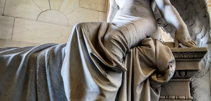 La ángela de Monteverde, el otro gran ángel de Madrid