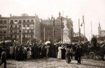 Monumento a Quevedo, 1902
