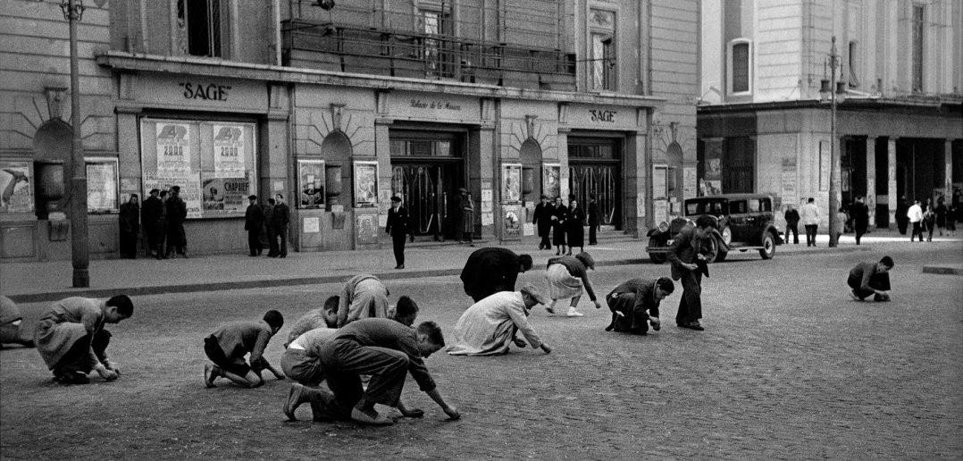 Gran Vía en, 1936. Madrid