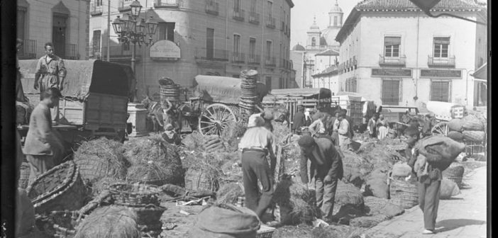 Fotos antiguas de Madrid: La Latina en 1930