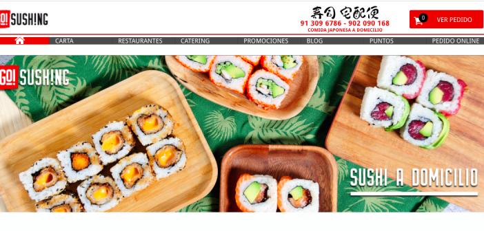 Go Sushing: comida japonesa de calidad a domicilio