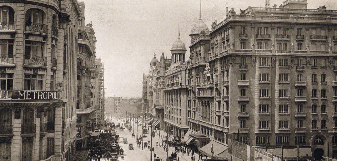 Gran Vía en 1924