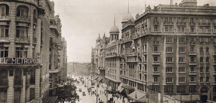 Fotos antiguas de Madrid: Gran Vía, 1924
