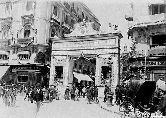 Calle del Carmen, 1900. Madrid