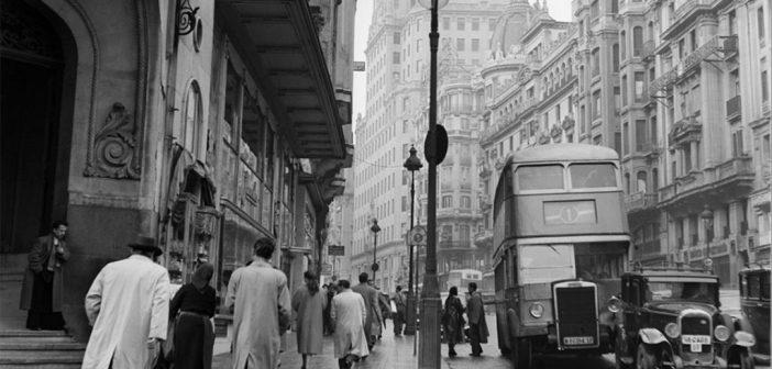 Fotos antiguas de Madrid: Gran Vía, 1954