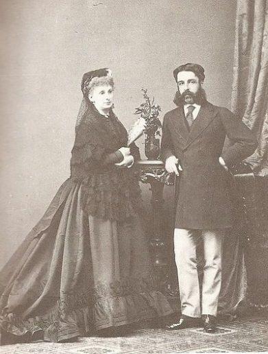 Sofía Troubetzkoy y Pepe Osorio, Marqués de Alcañices