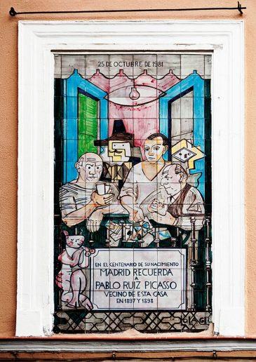 La Casa de Picasso en Lavapiés