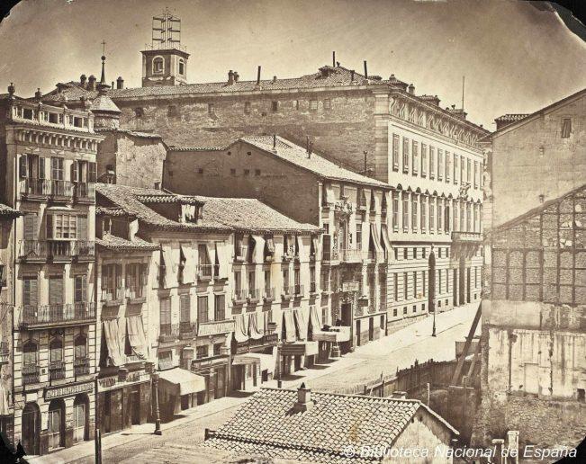 La Calle de Alcalá en 1856