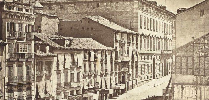 Fotos antiguas de Madrid: La Calle de Alcalá en 1856