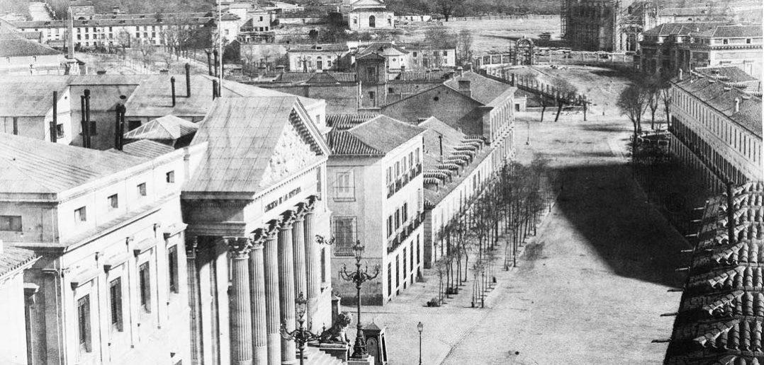 Carrera de San Jerónimo, 1853. Madrid