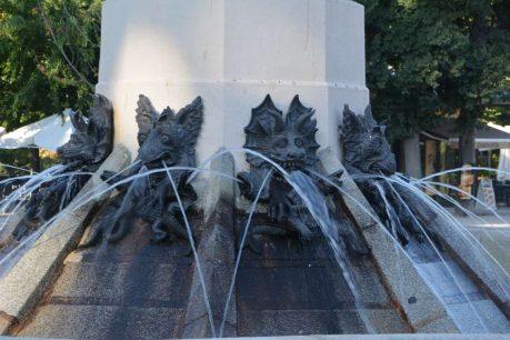 Estatua del Ángel Caído, en Madrid