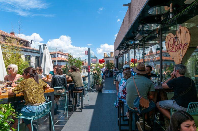 azoteas con reserva en Madrid
