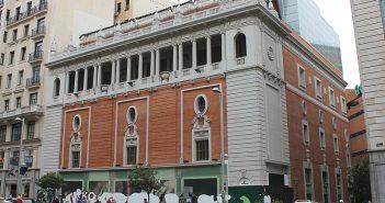 ElPalaciodelaMúsicadeGranVíaseconvertiráenunteatro en Madrid
