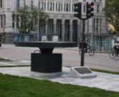Monumento a las víctimas de la pandemia: Un pebetero en la calle de Alcalá