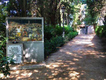 El cementerio de la Florida, Madrid