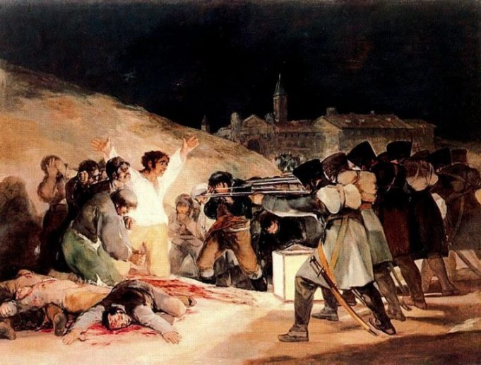 Fusilamientos del 3 de mayo, de Goya