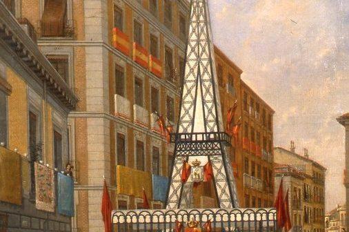La Torre Eiffel que hubo en Lavapiés