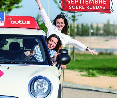Sacarte el carnet de coche en septiembre con Autius