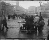 Fotos antiguas de Madrid: La Puerta del Sol hacia 1900