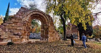 Las ruinas de San Pelayo y San Isidoro en el Retiro