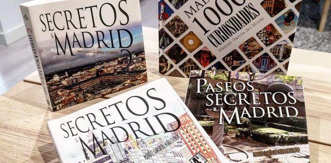 Los libros de Secretos de Madrid: El regalo perfecto para amantes de Madrid
