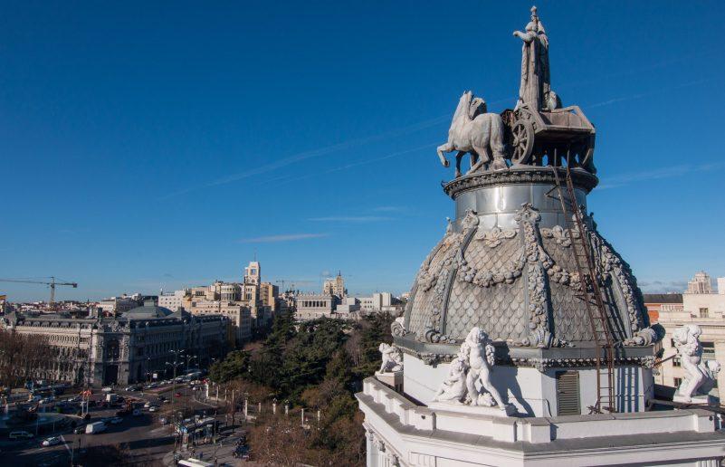 Vista de Madrid de Secretos de Madrid, Blog de viaje