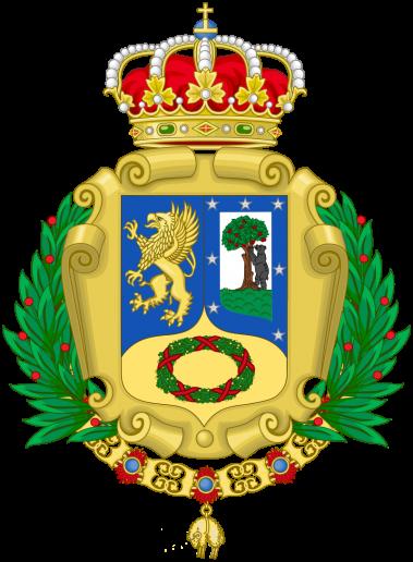 Escudo de Madrid, con oso y dragón. Madrid