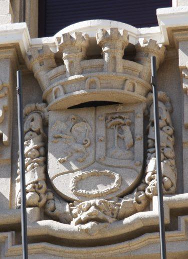 Escudo de Madrid, con oso y dragón