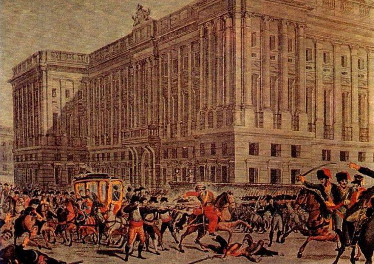Escenarios del 2 de mayo de 1808