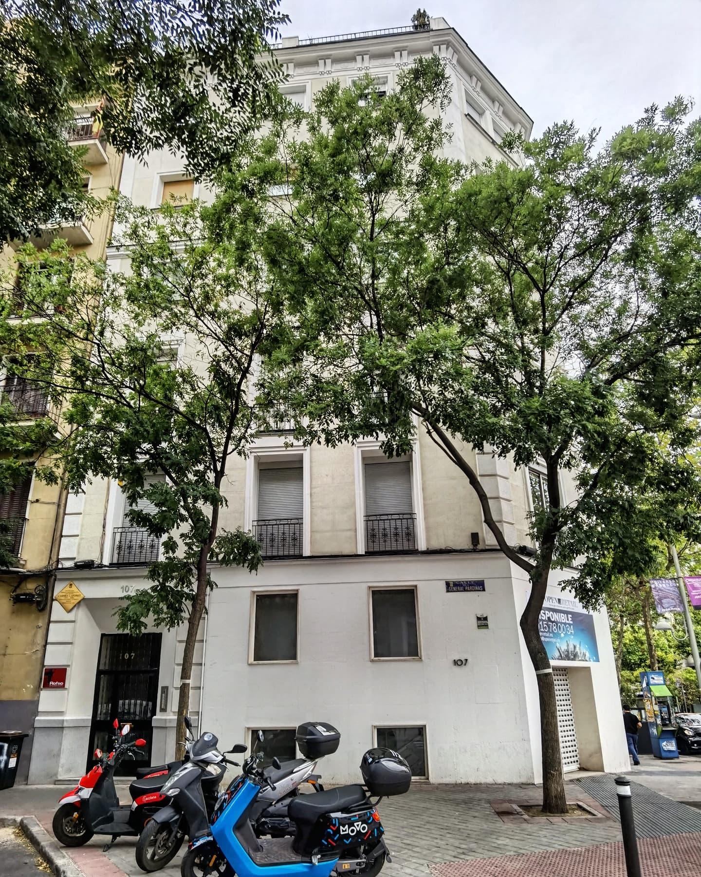 La casa de Carmen Laforet en Madrid